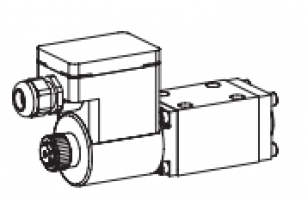 Клапан золотниковый с электромагнитным управлением, взрывозащищенный EEx em II