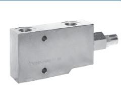 Тормозной клапан двухлинейный односторонний (WBCSELUPI)