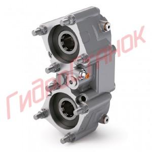 """Коробка отбора мощности """"Hydrocar"""" код P93Z3P18W11 (2 выхода ISO, 450 Нм,  отн. 1,3, раздельное включение, комплект смазки)"""