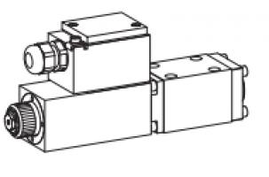 Клапан золотниковый с электромагнитным управлением, взрывозащищенный Ex ia II C