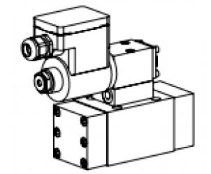 Клапан золотниковый управляемый клапаном с электроуправлением, взрывозащищенный EEx em II