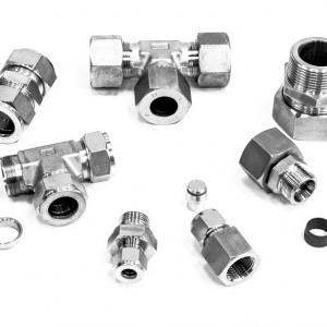 Трубные соединения (фитинги) 24° DIN 2353 / ISO 8434-1