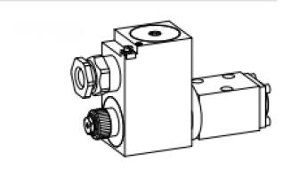 Взрывозащищенный электромагнитный золотниковый  клапан Ex d II C