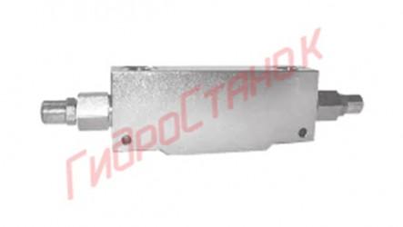 Тормозной клапан двухлинейный двухсторонний WBCDELU 03 B