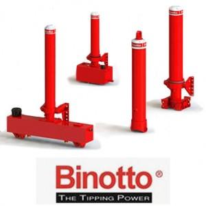 Гидроцилиндры телескопические Binotto
